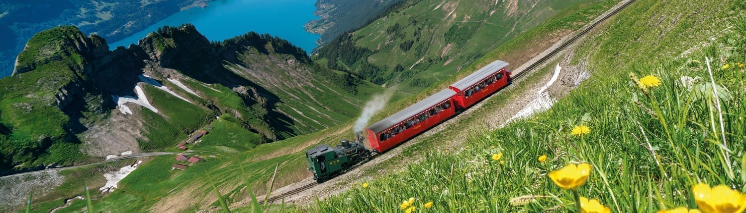 Brienzer Rothorn Cogwheel Train