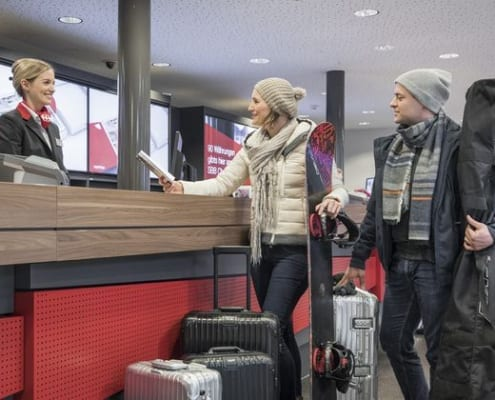 Changes in luggage service