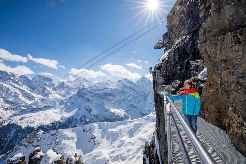 The new Schilthorn backgrounder