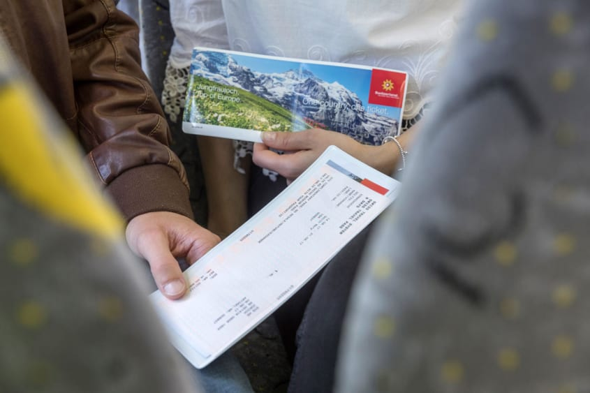 Swiss Transfer Ticket