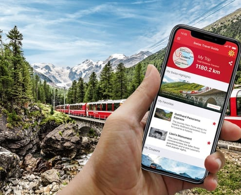 Swiss Travel Guide App