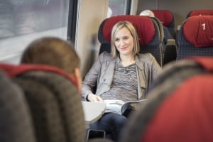 First Class Train Travel in Switzerland