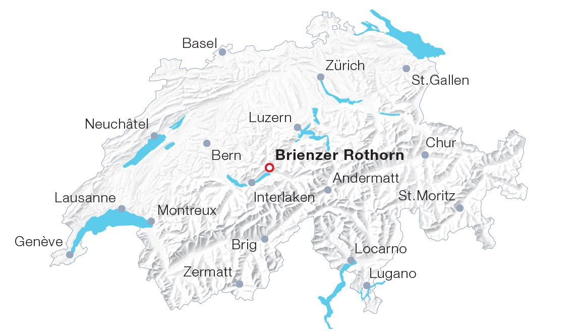 Map Brienzer Rothorn