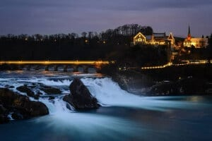 The Rhine Falls (© instagram.com/saurer.andreas)