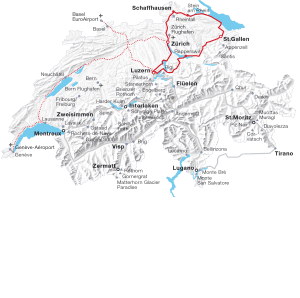 Grand Train Tour of Switzerland - Swiss Travel System Media ...