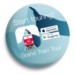 Grand Train Tour of Switzerland App - Button