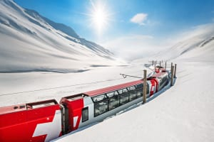 Swiss Travel System in winter