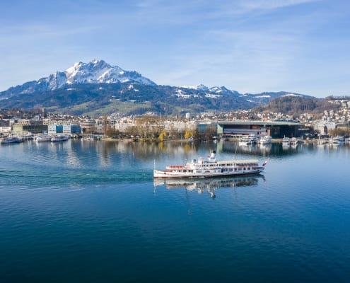 Steamboat «Stadt Luzern», Lake Lucerne