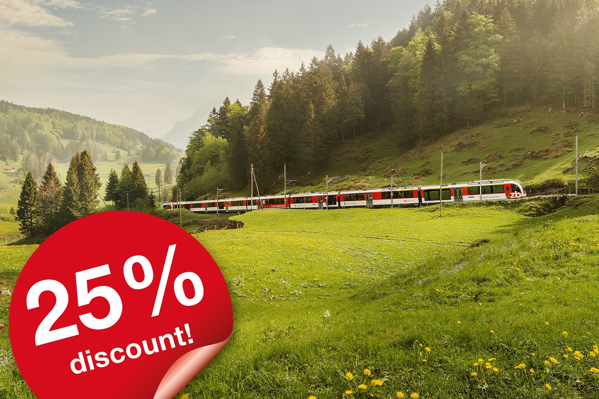 Swiss Travel Pass Global Promotion