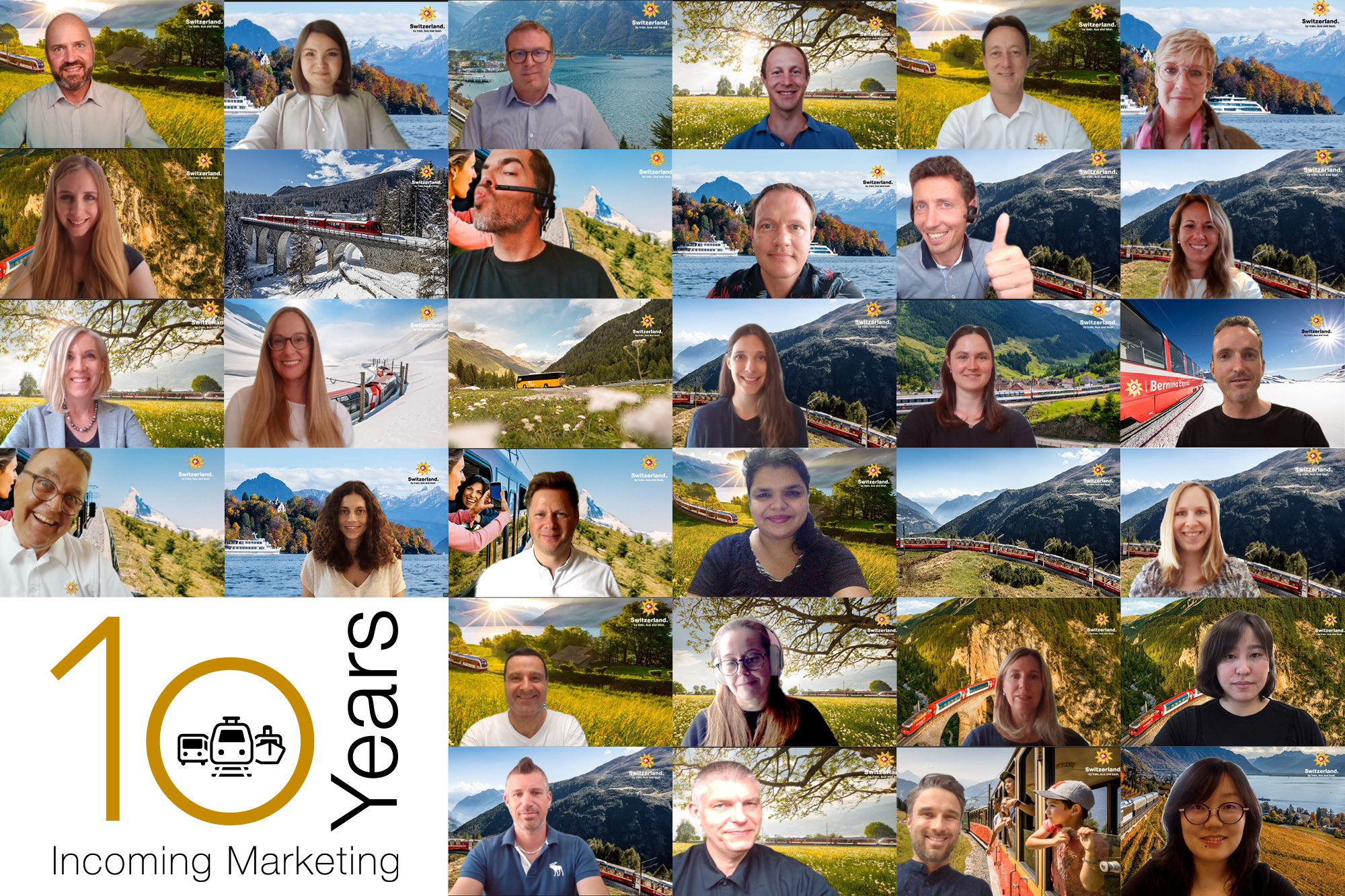 10 Jahre Swiss Travel System AG